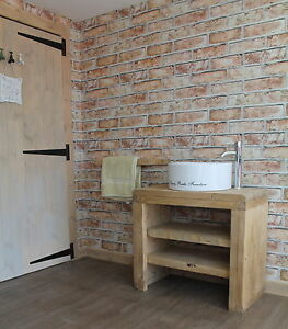 Image Is Loading The Mossy Pine Wash Stand Rustic Bathroom Belfast