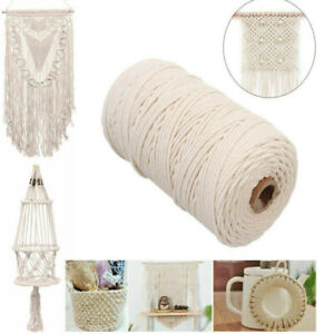 2-3-4-5mm-Natural-Cotton-Twisted-Craft-Macrame-String-DIY-Home-Cord-Rope