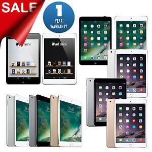 iPad-mini-1-2-3-4-16GB-32GB-64GB-128GB-Wi-Fi-Tablet-1-Year-Warranty
