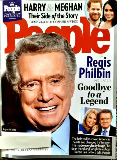 PEOPLE Weekly Magazine   AUGUST 10,  2020   REGIS PHILBIN Goodbye