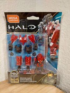 Mega Construx HALO Breacher Exosuit w Banished Brute GLB72 Minifig Pro Builders