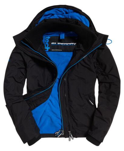 Windcheater Internationally Denby Ship Jacket Black Superdry Mens Blue Z75aqa