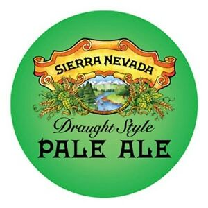 Sierra Nevada Pale Ale Medallion Badge 60mm Beer Tap