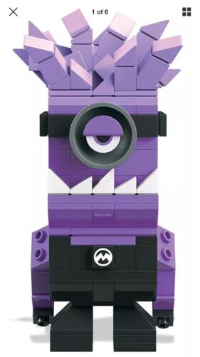 Mega Bloks Kubros Despicable Me Evil Minion Building Kit 1 Piece
