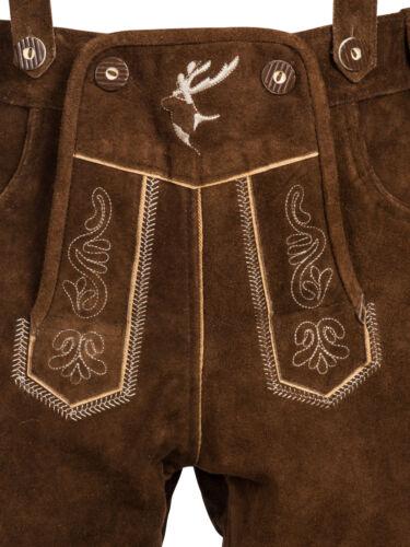 Trachten set señores Trachten Lederhose con vigas Tracht camisa bolso Oktoberfest