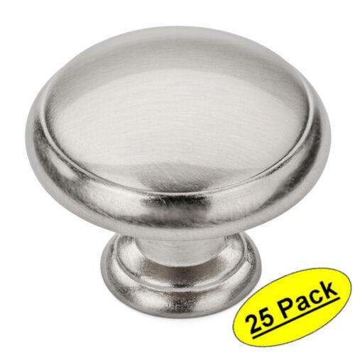 *25 Pack* Cosmas Cabinet Hardware Satin Nickel Cabinet Knobs #5422SN