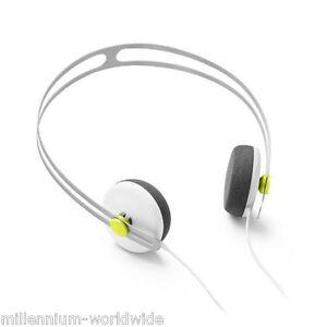 NEW - AIAIAI TRACKS HEADPHONES W/ ONE BUTTON MIC - WHITE / ON EAR / 40 MM
