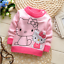 Newborn Baby Toddler Girl Fashion Clothing Infant Cute Cat Pullover Sweater