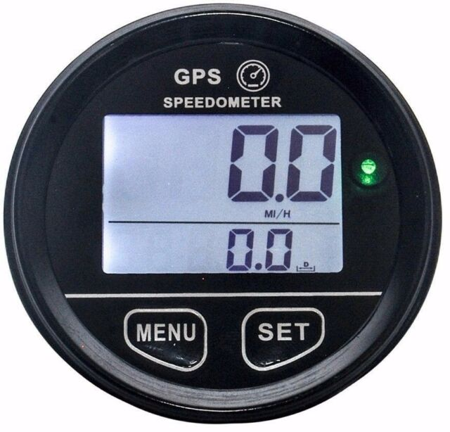 GPS Speedometer odometer atv utv motorcycle marine boat buggy golf go cart truck