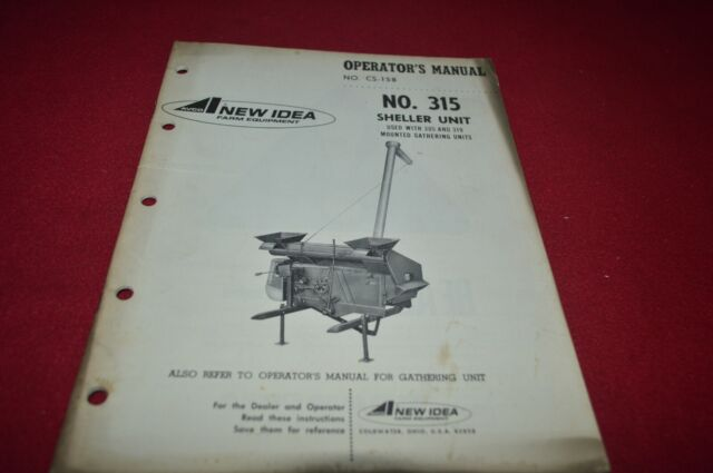 New Idea 751 Hay Conditioner Operator/'s Manual MFPA