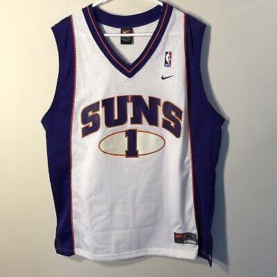 timeless design fc83b 3a61f New Vintage NIKE Phoenix Suns #1 PENNY HARDAWAY Jersey sz XL Swingman  Anfernee | eBay