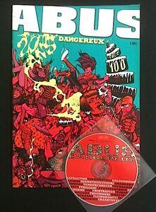 ABUS DANGEREUX - spécial n° 100 - fanzine rock avec CD - parfait état - France - ABUS DANGEREUX spécial n 100 fanzine rock avec CD parfait état envoi protégé - France