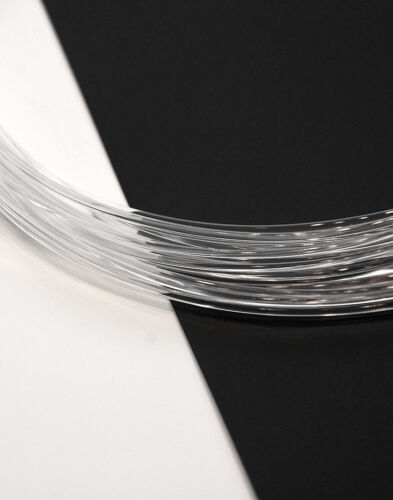 3D Printer Filament  PLA TRANSPARENT 1.75mm 1Kg Spool Made by Philament™