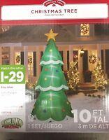 Christmas Tree Airblown Inflatable Yard Decor Prop 10 Feet Tall Gemmy