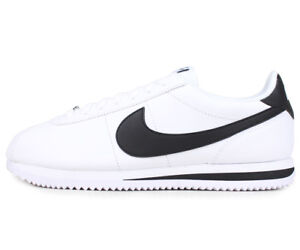 on sale 4da24 d2345 Details about Nike Cortez Leather White Black Men's Size New In Box 100%  Original