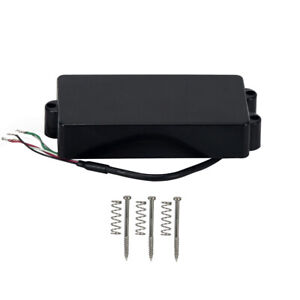 new mm bass pickup humbucker pickup closed style for 4 string musicman bass 600685810507 ebay. Black Bedroom Furniture Sets. Home Design Ideas