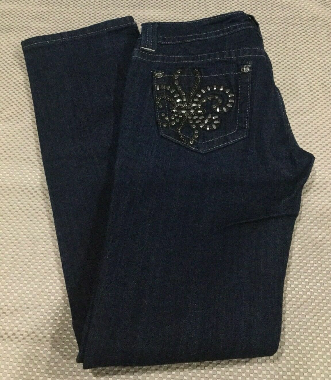 NWT Women's Miss Me Jeans Straight Size 28, Super Cute Jeans