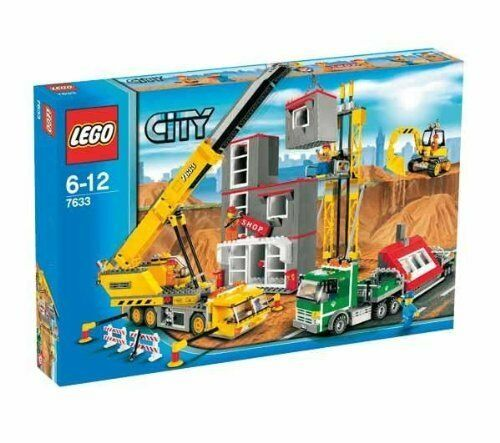 LEGO CITY 7633 NUOVO - Construction Site - ANNO 2009 NEW MISB