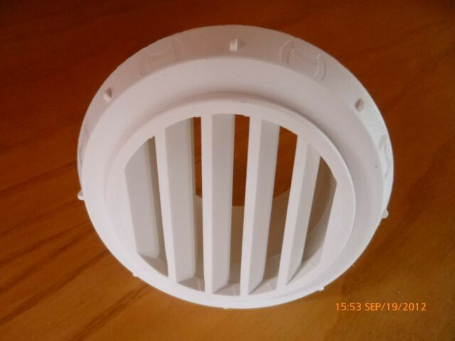 FOR EBERSPACHER, WEBASTO PROPEX HEATER 60MM OPEN VENT OUTLET WHITE