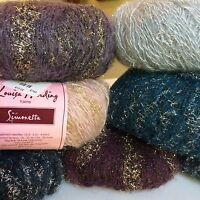 Louisa Harding Simonetta 264 Yds Add Sparkle To Knitting Sale Select Color
