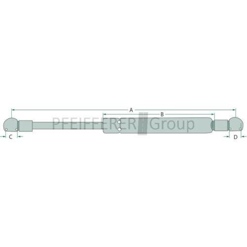 STABILUS Gasdruckfeder f 04415239 Deutz V-Nr