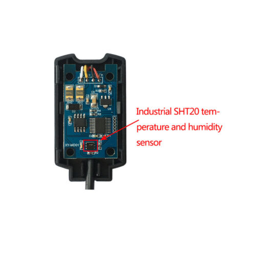 SHT20 Temperature Humidity Sensor Modbus RS485 High Precision Transmitter
