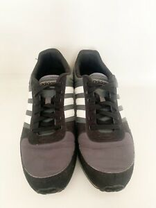 Details about Men's Adidas NEO City Racer Retro Mens Black Running Shoes 11