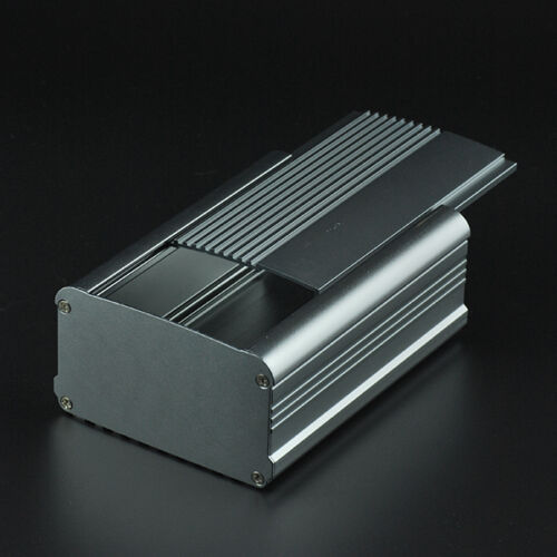 2pcs Aluminum Box Enclosure Case Project electronic for PCB DIY 130*95*55MM