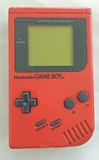 Used Red Original Nintendo GameBoy 1st generation *Working Condition *US Seller