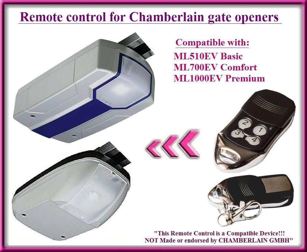 ML800EV ML1000EV-F ML1000EV-S garage door openers Compatible ...