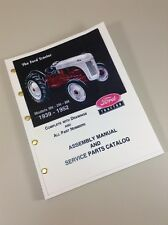 Ford 2n 8n 9n Tractor Assembly Service Parts Manual Catalog New Print 1939 1952