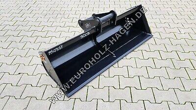 Grabenräumlöffel Ms03 Sy 1400 Mm Löffel Schaufel Minibagger Ms03 140 Cm 3-4 T Mit Traditionellen Methoden Anbaugeräte