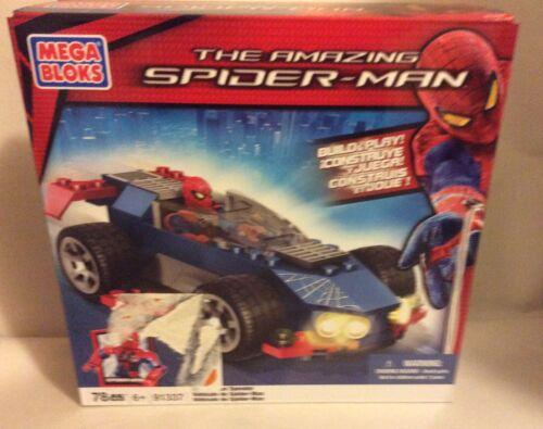 SPIDER-MAN SPEEDER NIB AMAZING SPIDER-MAN KIT # 91337 2012 MEGA BLOKS