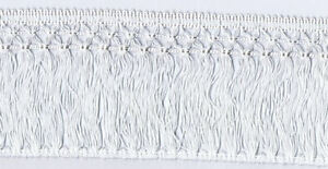 16-Yard-Spool-of-4-1-2-034-Matte-Braided-Lattice-Edge-Chainette-Fringe-8458