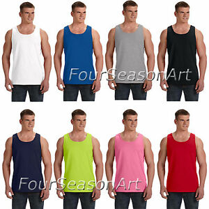 c87d208832dbe3 Fruit of the Loom Mens Heavy Cotton HD 100% Tank Top T shirt S-3XL ...