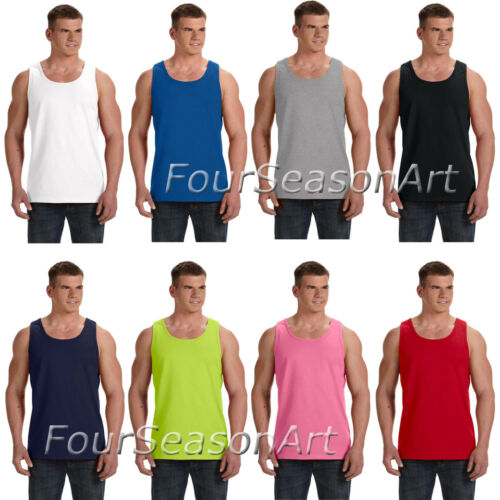Fruit of the Loom Mens Heavy Cotton HD 100/% Tank Top T shirt S-3XL 39TKR