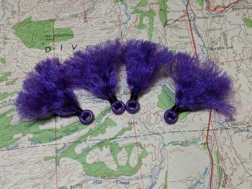 Petit Violet Poly Fly Fishing Strike Indicateur 4ea