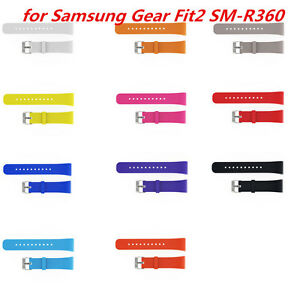 For-Samsung-Gear-Fit2-SM-R360-Silicone-Band-Wrist-Watch-Strap-Cool-Replacement