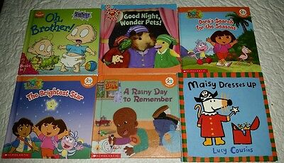 7 Nick Jr. Book Club Stories in Six Books | eBay