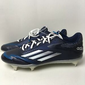 new style d2f10 14f77 Image is loading New-Adidas-Adizero-Afterburner-Baseball-Cleats-Blue-Black-