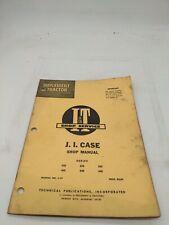 I Amp T Tractor Shop Service Repair Manual Ji Case C 19 430 440 530 540 630 640