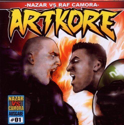 NAZAR VS RAF CAMORA - Artkore (2010 CD) NEU & OVP | CHAKUZA | FLER | TAREK | KIZ
