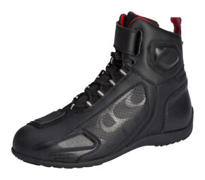 Boots-Motorbike-Counterparts-Ixs-Sport-RS-400-short-Black-Choice-Size-38-lt-47