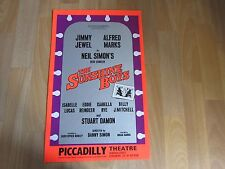 The SUNSHINE Boys Alfred Marks & Jimmy Jewel PICCADILLY Theatre Original Poster