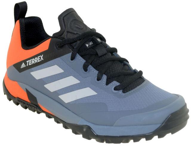 Adidas Men's Terrex Trail Cross SL Mountain Bike Shoe Style CM7563 GrayOrange