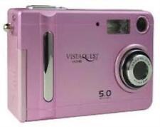 VistaQuest VQ-500 Pink 5MP Digital Camera