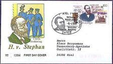 BRD 1997: Heinrich von Stephan FDC Nr 1912! Kieler Sonderstempel! Gelaufen! 1703