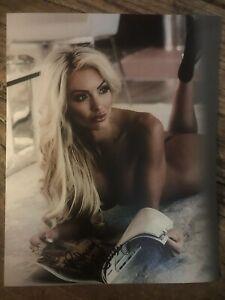 Guira Bethany, Main SignÉ 8x10 Photo. Livré Avec Un Certificat D'authenticité. Sexy-afficher Le Titre D'origine