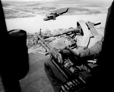 "Huey Helicopter Attack Squadron on Patrol 8""x 10"" Vietnam War Photo 201"