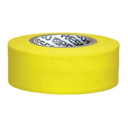 PRESCO PRODUCTS CO TXYG-200 Texas Flagging Tape,Yellow Glo,150 ft